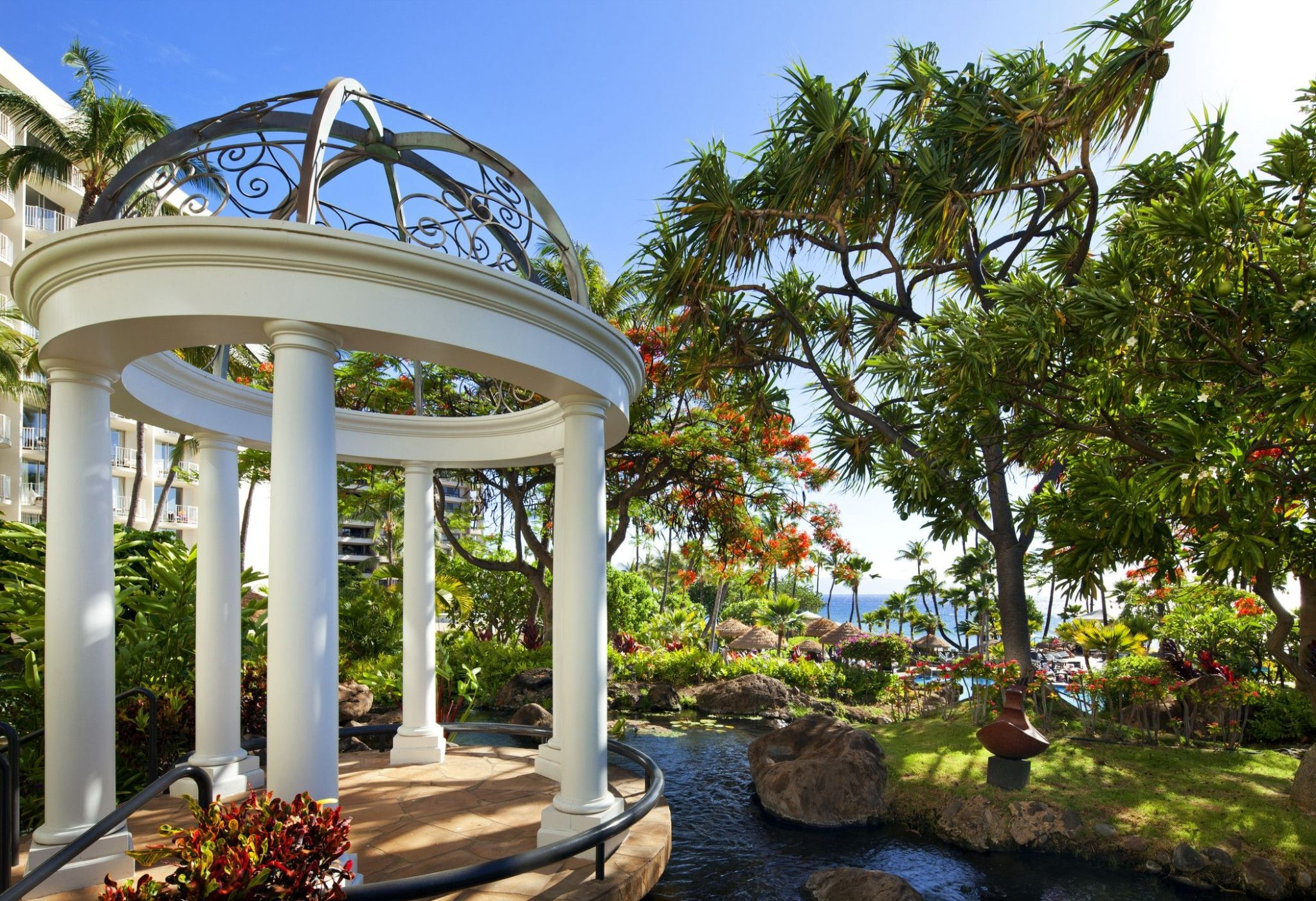 westin maui wedding venue hale aloha gazebo - The Westin Maui Resort & Spa